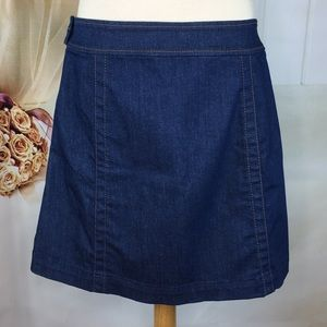 LOFT Skirts - Loft Denim A-line Skirt